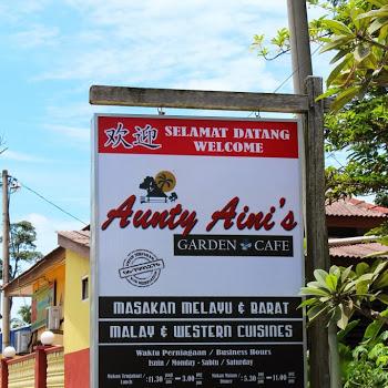 Seram Serik Nak Ke Aunty Aini S Garden Cafe Lagi Lekat Lekit Story