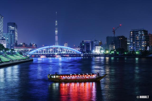 東京スカイツリー「白色」のライティング