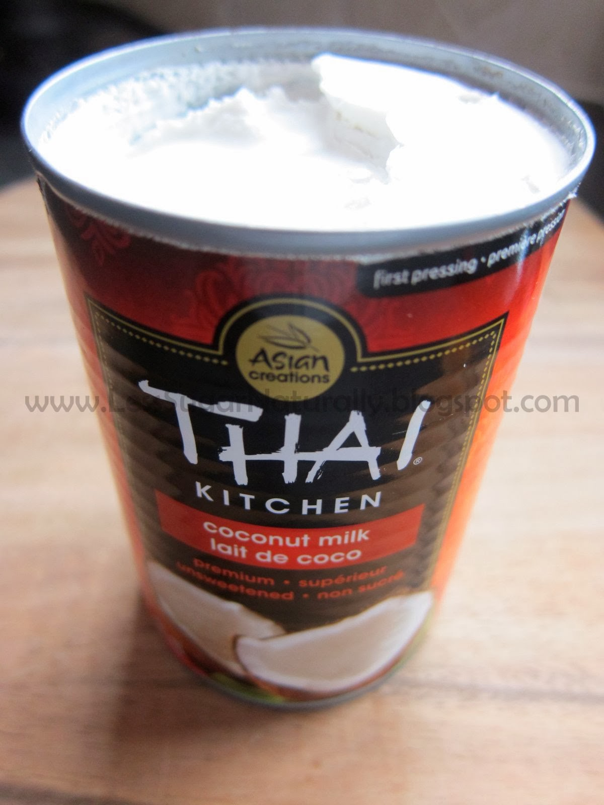 thai kitchen organic coconut milk pull out shelves for cabinets less sugar naturally dairy free butter chicken