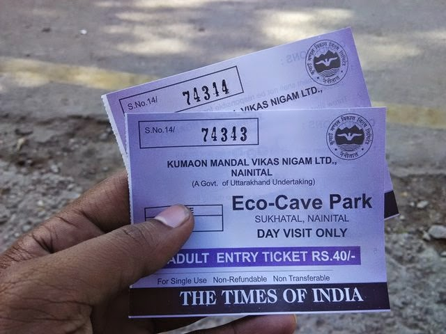 eco cave entry ticket