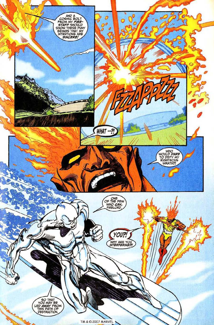 Read online Silver Surfer (1987) comic -  Issue #146 - 19