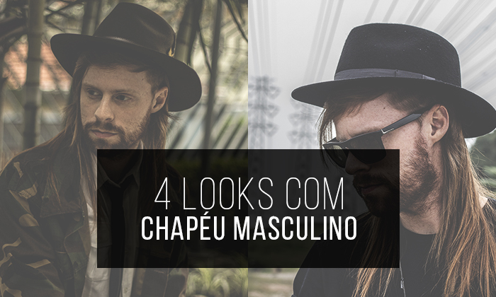 e9ae167b797d5 Macho Moda - Blog de Moda Masculina  4 Looks com Chapéu Masculino ...