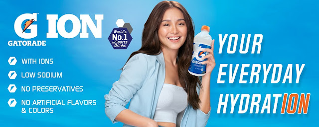 Kathryn Bernardo is the newest face of Gatorade Ion