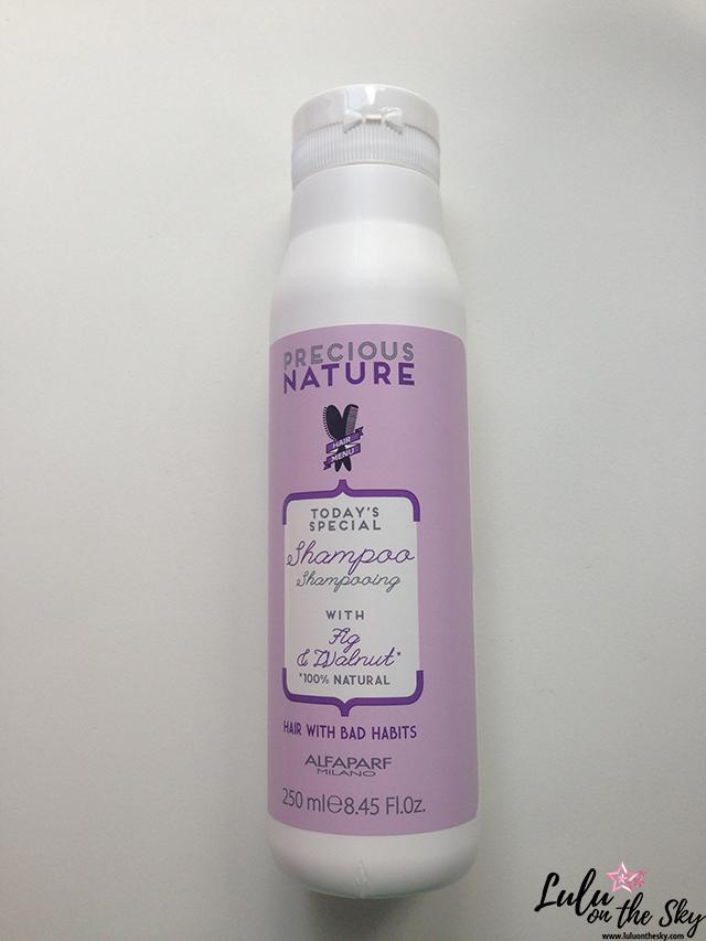 Precious Nature Alfaparf Fig & Walnut : shampoo e creme dupla ação