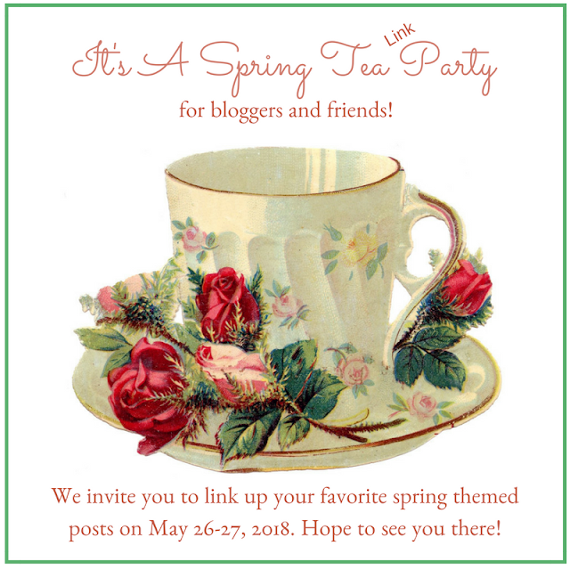 Spring Tea Party link up and Giveaway