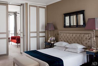 tino zervudachi's paris home bedroom