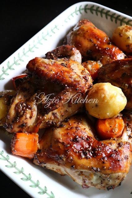 Ayam Panggang Blackpepper Yang Paling Sedap