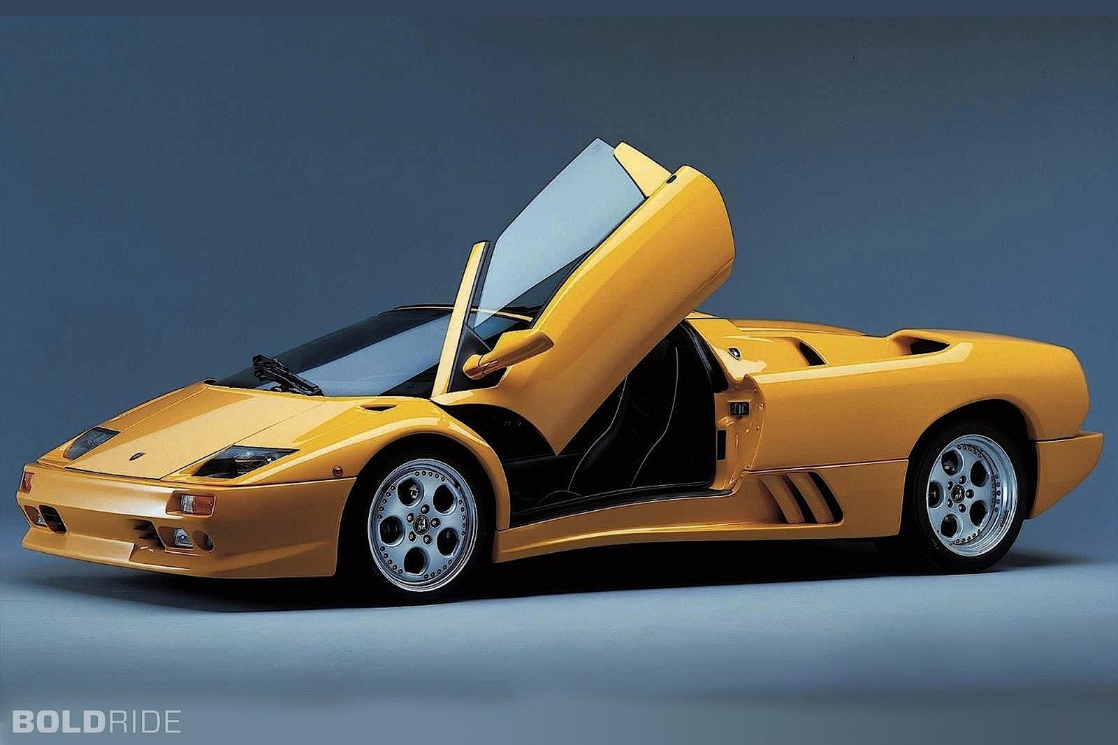 Luxury Lamborghini Cars: Lamborghini Diablo Roadster