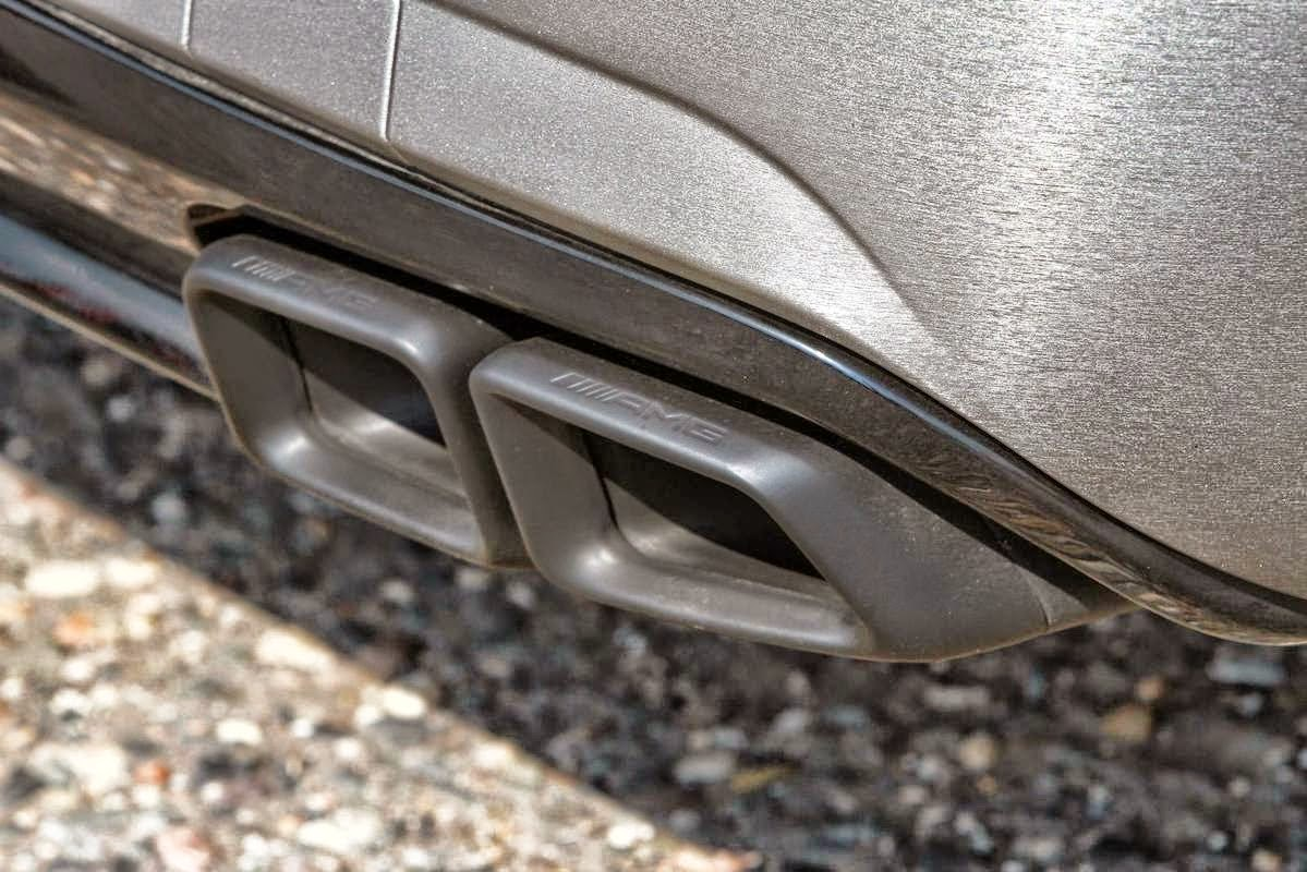 amg exhaust