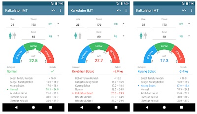 aplikasi android mengetahui imt