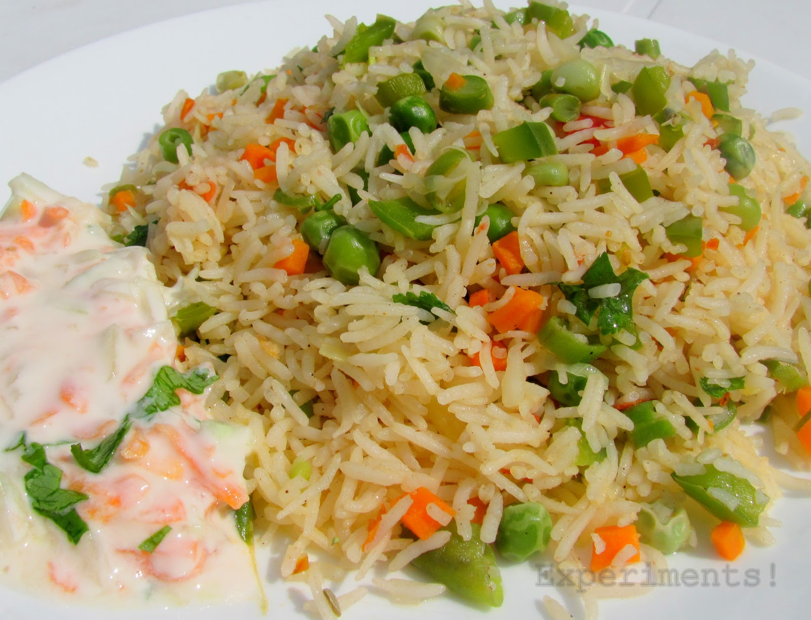 Flavours: Magic Vegetable Fried Rice