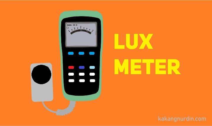 ilustrasi lux meter kakangnurdin