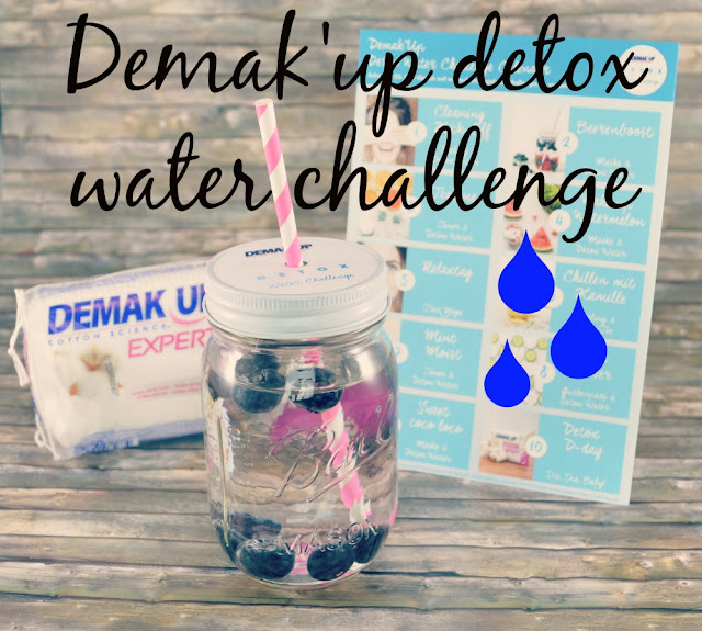 Demak'Up Detox Water Challenge