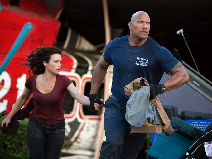 San Andreas Dwayne Johnson Rock disaster earthquake