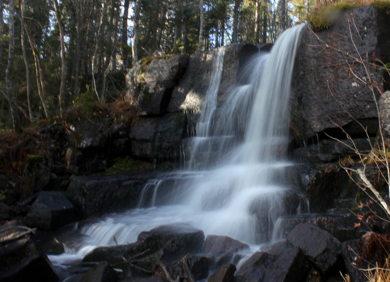 Dalsjöfallet, Vattenfall, Skuleskogen