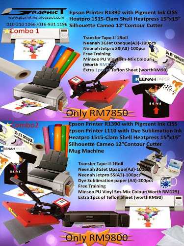 Graphic T~Printing Equipments