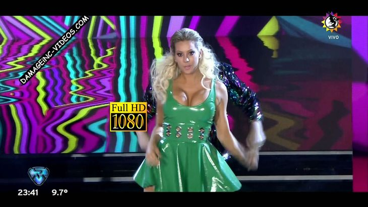 Busty Noelia Marzol hot cleavage Damageinc Videos HD 1080