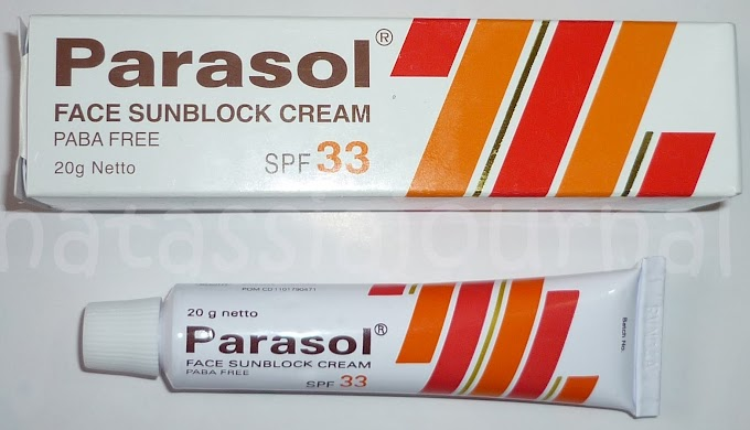  [Sunblock] Parasol33 Paling Aman Buat Temen Vitacid Obat Jerawat