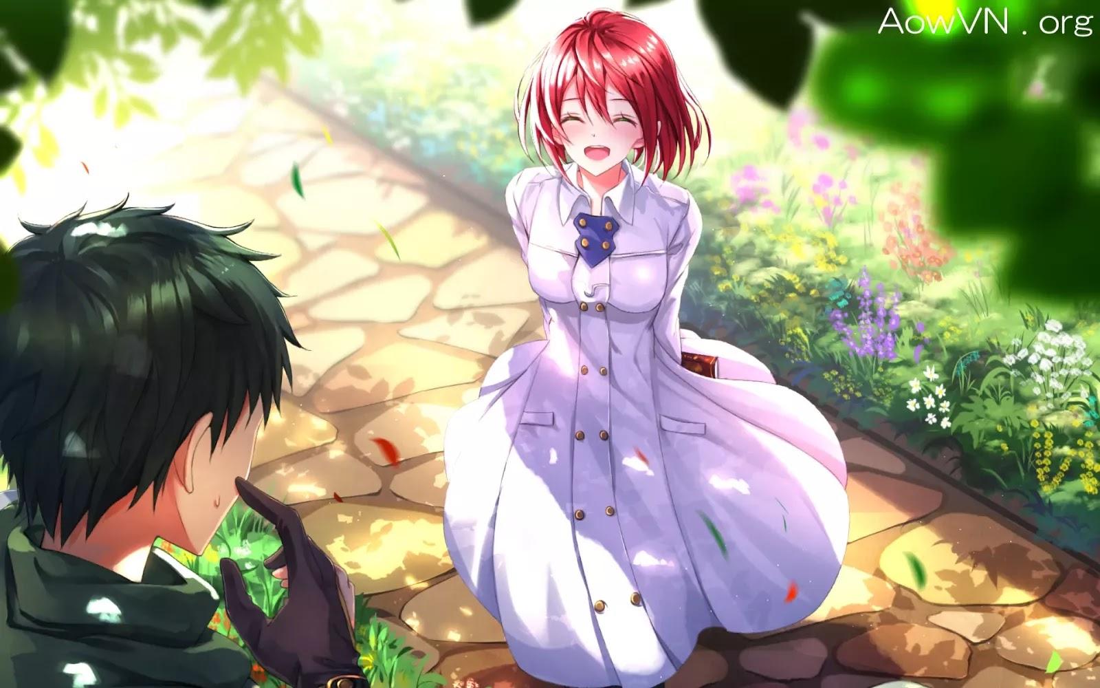 AowVN m%2B%25281%2529 - [ Anime 3gp Mp4 ] Akagami no Shirayukihime SS1 + SS2 + OVA | Vietsub