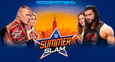 Ver Repeticion WWE SummerSlam 2018 EN HD Español