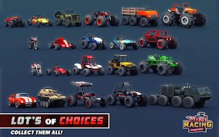 Mini Racing Adventures Mod Apk v1.14 Unlimited Gold