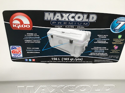 Costco 819779 - Igloo Maxcold Premium 165 qt Cooler: great for parties and bbqs