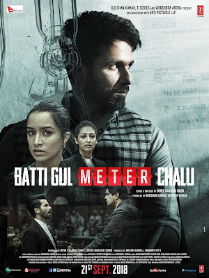 Batti Gul Meter Chalu 2018 Hindi Pre-DVDRip 400Mb x264