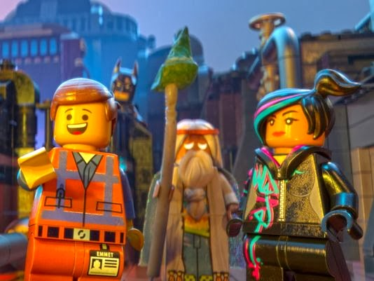 LEGO Town playset movie