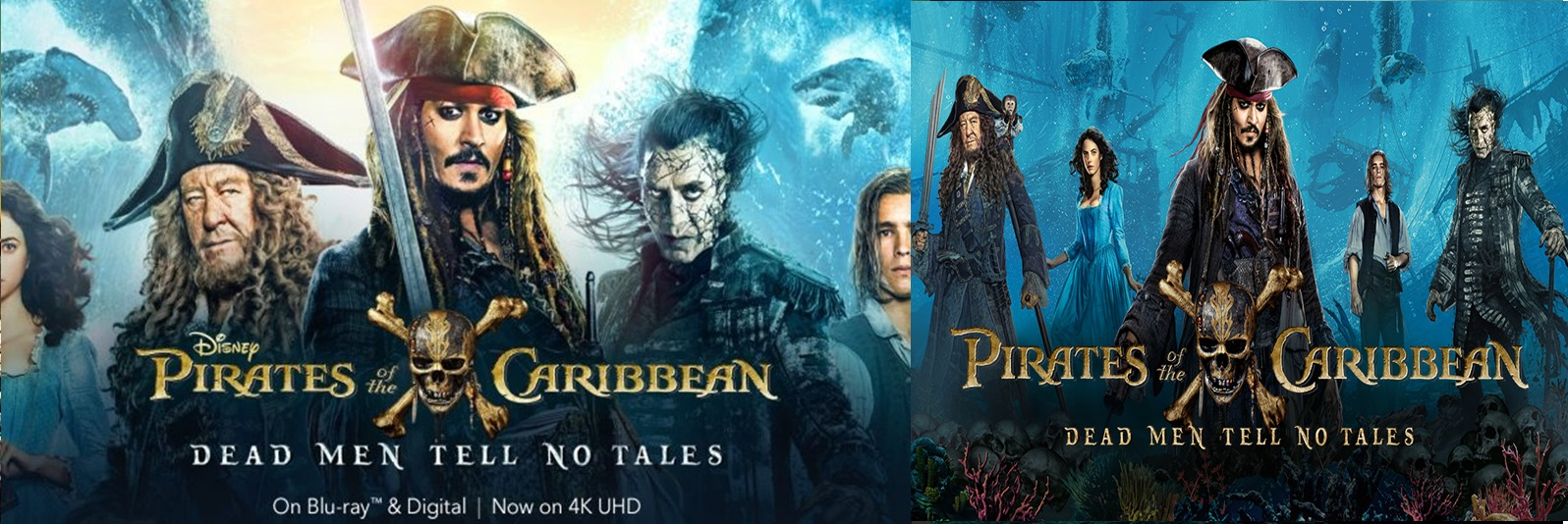 Pirates of the Caribbean Dead Men Tell No Tales 2017 Full Movie Dual Audio [Hindi – English] 720p – 480p ORG BRRip 400MB - 1.3GB ESubs Free Download