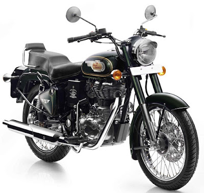 Royal Enfield Bullet 500 Front Show Image