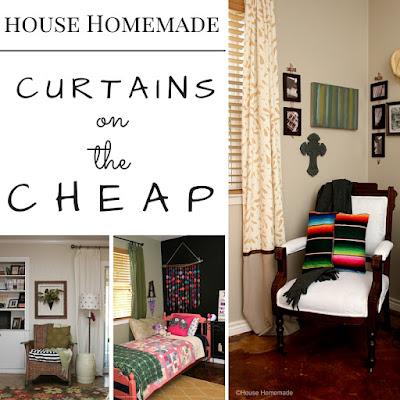 Curtain ideas for cheap