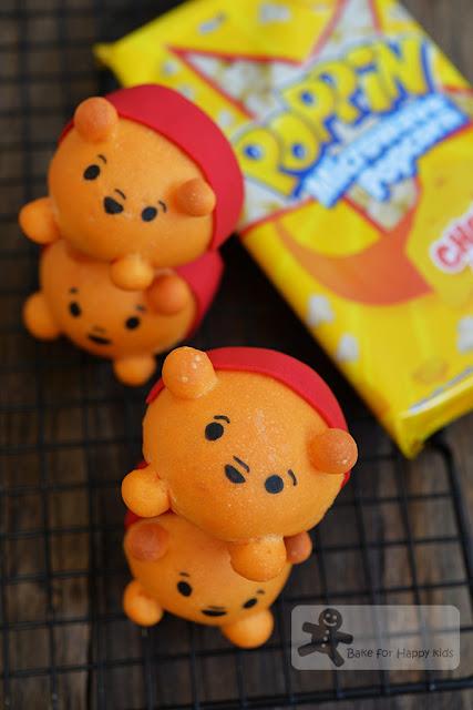 Disney Pooh Tsum Tsum Hunny Popcorn Pull Apart Bread Buns