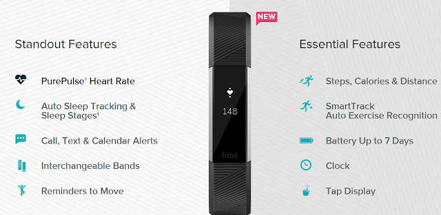 Fitbit Alta HR fitness tracker for casual athletes