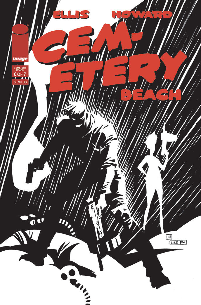 CEMETERY BEACH #6 Cover B Frank Millar tribute