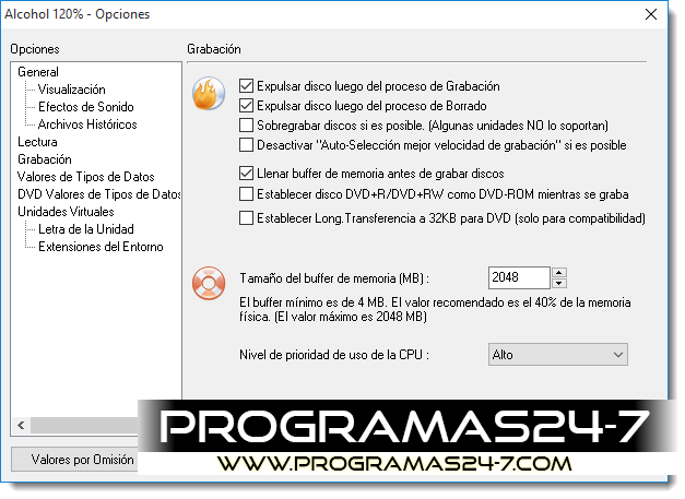 Descargar Alcohol 120% v2.0.3.8314 Full