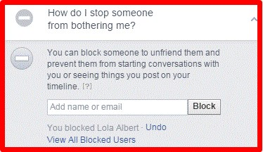 how to unblock facebook friends on mobile
