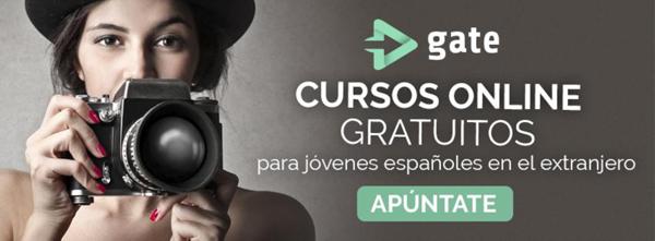 cursos online gratis para españoles en extranjero