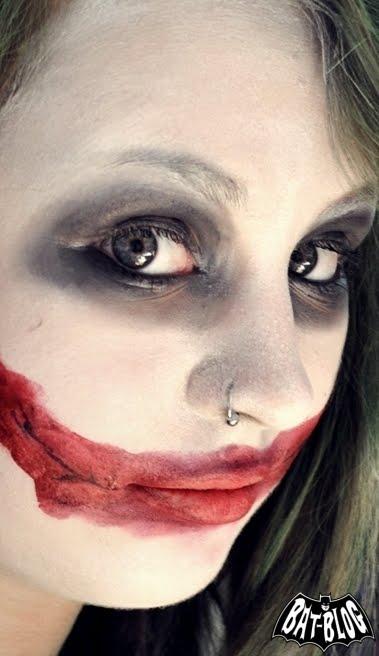 Batman Wallpaper Media Franziskas Joker Make Up Heath Ledger Version - Joker-no-makeup-ics