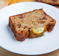 Chocolate Chip Zucchini Greek Yogurt Banana Bread Recipe | Healthy Bread Recipe