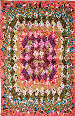 Quilt Inspiration Free Pattern Day Thousand Pyramids Quilts