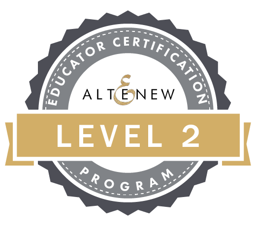 Altenew Level 2 Certified
