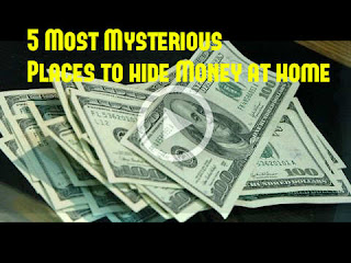 5 Most Mysterious secret Places to hide Money at home - EVERYONE SHOULD KNOW, Secret Hiding Places That Will Fool Even the Smartest Burglar, how to hide money from spouse, Keep Money Hidden From a Partner