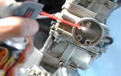 mengoptimalkan karburator motor