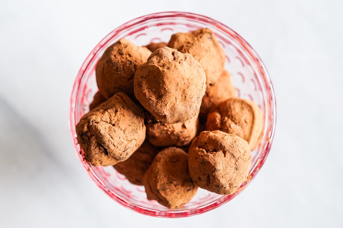 brownie truffles, 3 ways | bakeat350.net for The Pioneer Woman Food & Friends