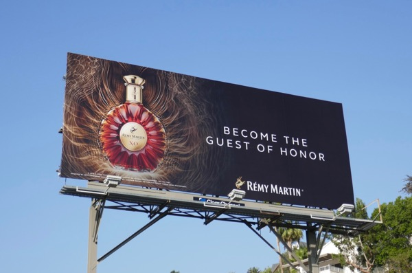 Become guest honor Remy Martin billboard