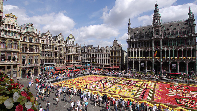 Flower Carpet Brussels Belgium