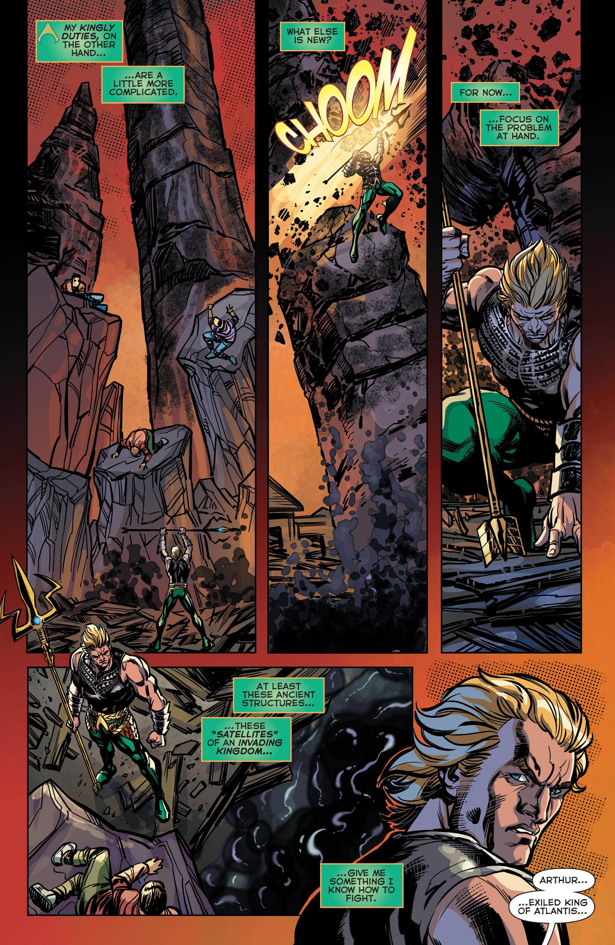 Read online Aquaman (2011) comic -  Issue #42 - 15