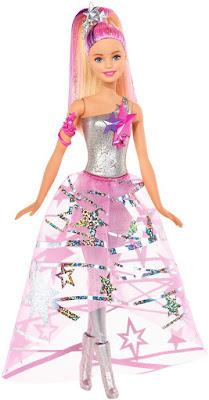 TOYS : JUGUETES - BARBIE Aventura en el espacio Barbie Vestido Galactico : Muñeca Producto Oficial Nueva Película 2016 Star Light Adventure Mattel DLT25 | A partir de 3 años Comprar en Amazon España & buy Amazon USA