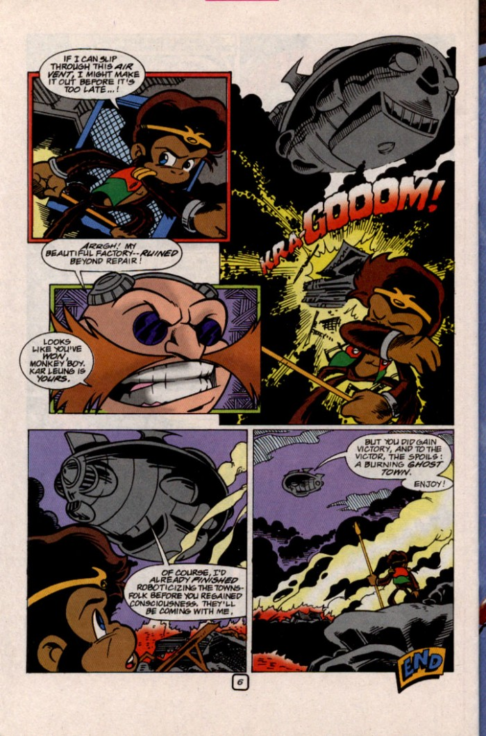 Read online Sonic The Hedgehog comic -  Issue #87 - 22