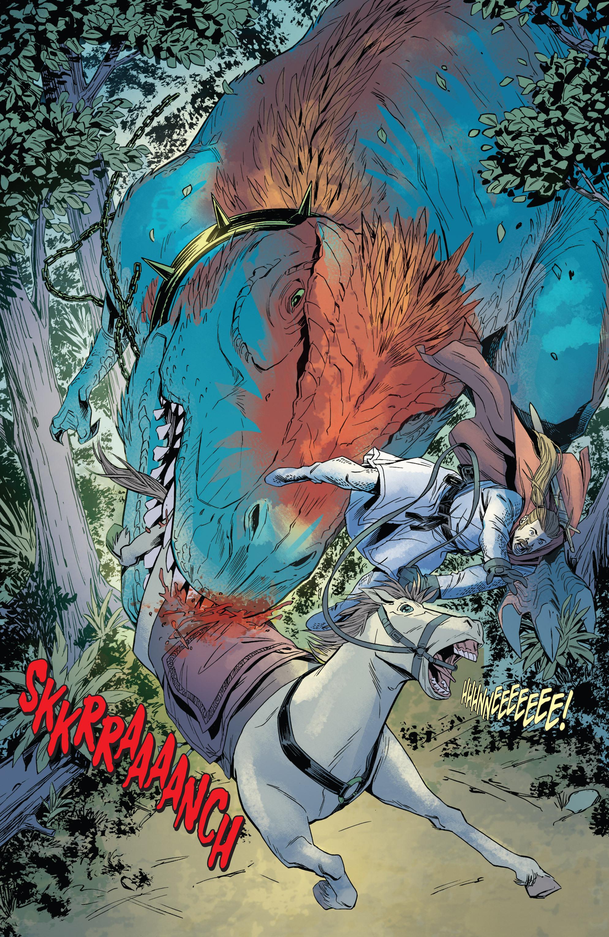 Read online Turok: Dinosaur Hunter (2014) comic -  Issue # _TPB 1 - 66